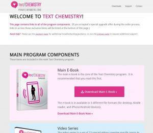 Text Chemistry Program
